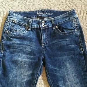 """Ariya Jeans, Size 11, Skinny Stretch, 29"""" X 30"""""""